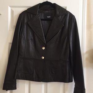 Women's Mossimo 100% Genuine Leather Jacket